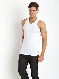 Levi's 300 Series Rib Tank Two-Pack Bright White