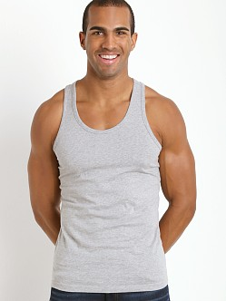 Levi's 200 Series 100% Cotton Tank Two-Pack Heather Grey