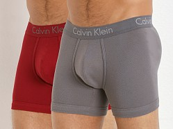 Calvin Klein Body 2-Pack Boxer Brief Dylan Red/Grey Sky
