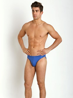 Emporio Armani Eagle Low Swim Brief Royal Blue