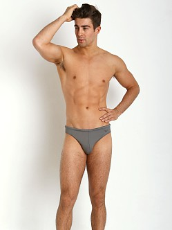 Emporio Armani Eagle Low Swim Brief Ash Grey