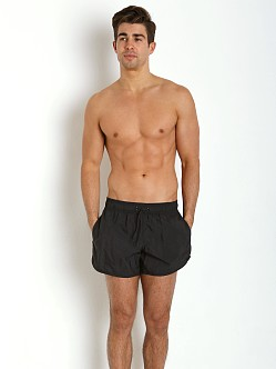 Emporio Armani Eagle Swim Shorts Black