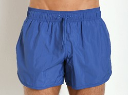 Emporio Armani Eagle Swim Shorts Royal Blue