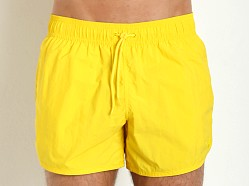 Emporio Armani Eagle Swim Shorts Yellow