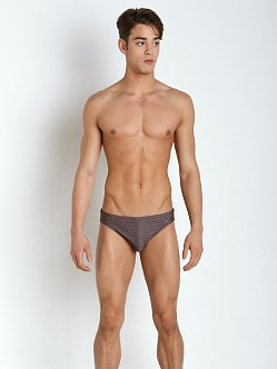 Emporio Armani Lux Swim Brief Ash Grey