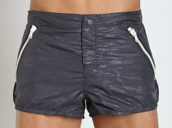 Emporio Armani Camouflage Shorts Charcoal