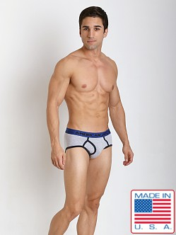 American Jock Varsity Brief Heather/Navy