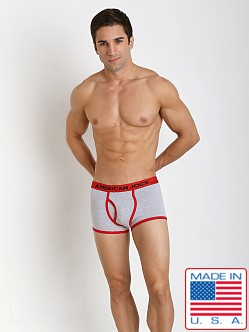 American Jock Varsity Trunk Heather/Red
