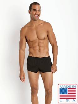 American Jock Ultra Running Short Black