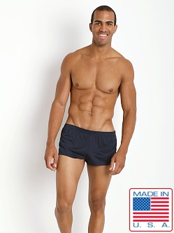 American Jock Ultra Running Short Navy