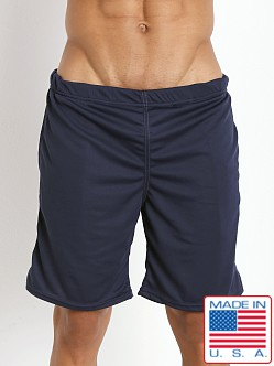 American Jock Workout Short with Built-In Jock Navy