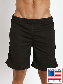American Jock Workout Short with Built-In Jock Black