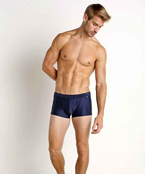 Tulio Solid C-Ring Swim Trunk Navy