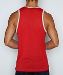 C-IN2 Scrimmage Relaxed Tank Top Cheer Red, view 2