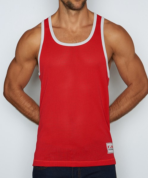 C-IN2 Scrimmage Relaxed Tank Top Cheer Red