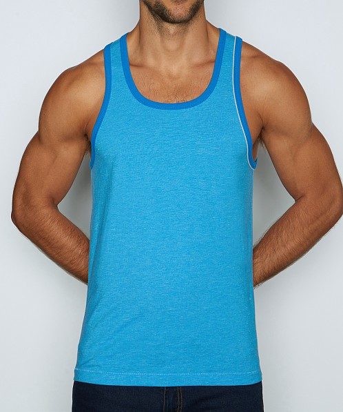 C-IN2 Hand Me Down Relaxed Tank Top Freddie Blue