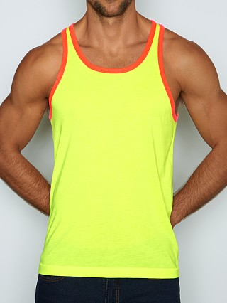 C-IN2 Super Bright Relaxed Tank Top Psycho Yellow