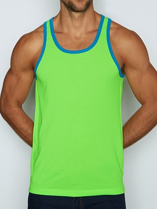 C-IN2 Super Bright Relaxed Tank Top Grody Green