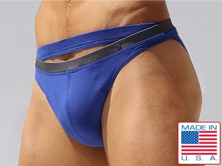 Rufskin Felipe Cotton Spandex Calkini Briefs Royal