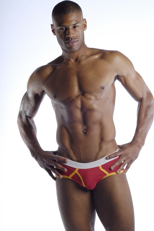 Go Softwear Contrast Boy Briefs Red/Gold