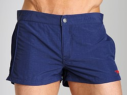 Diesel Coralrif Nylon Swim Shorts Deep Blue