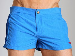 Diesel Coralrif Nylon Swim Shorts Blue