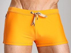 Diesel Aloha Solid Swim Trunk Orange