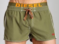 Diesel Barrely Fresh & Bright Swim Shorts Hunter Green