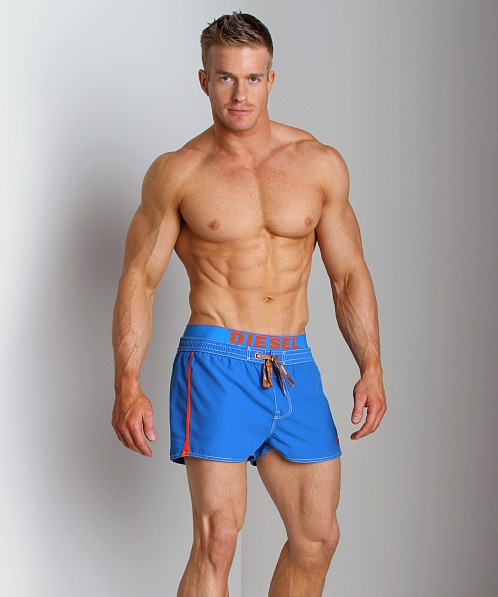 Diesel Barrely Fresh & Bright Swim Shorts Blue