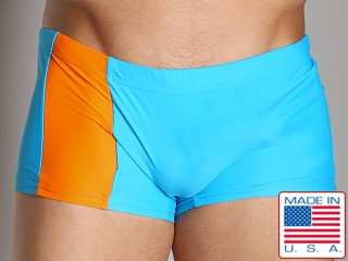 Go Softwear C-Ring Swim Trunks Turquoise/Orange