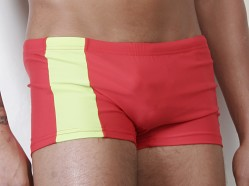 Go Softwear C-Ring Swim Trunks Red/Lime