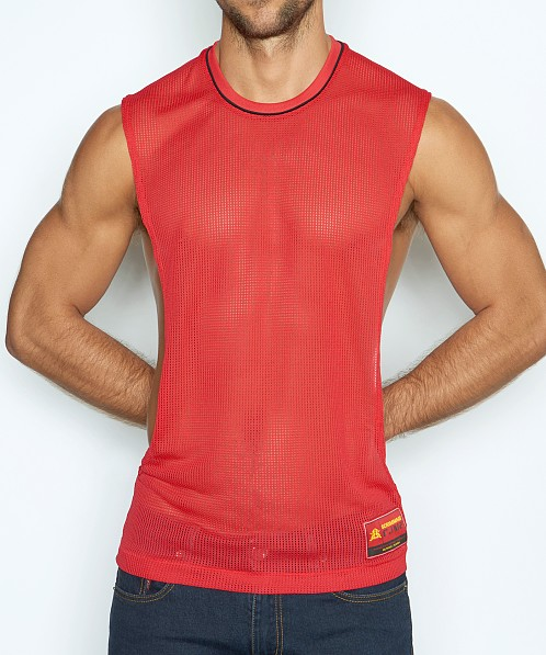 C-IN2 Scrimmage Lift Tank Winning Red