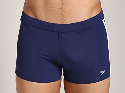 Speedo Shoreline Square Leg Swim Trunk Speedo Navy