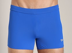 Speedo Shoreline Square Leg Swim Trunk Olympian Blue