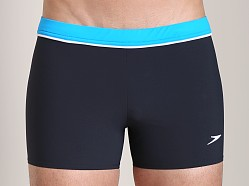 Speedo Jym Square Leg Swim Trunk Black