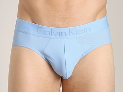 Calvin Klein Black Micro Hip Brief Kinetic Blue