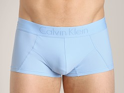 Calvin Klein Black Micro Low Rise Trunk Kinetic Blue