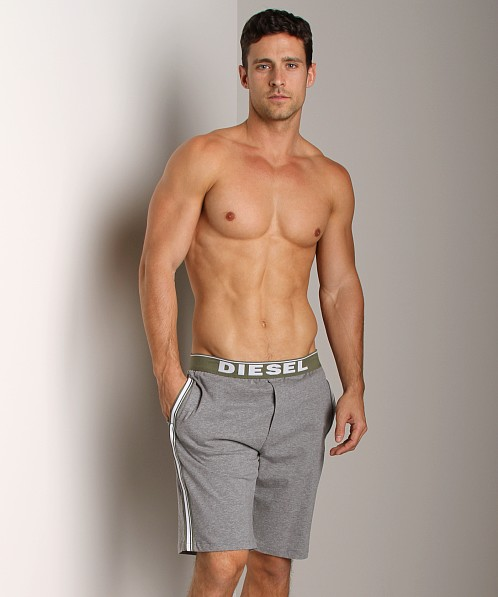 Diesel Fresh & Bright Hans Jersey Lounge Shorts Grey