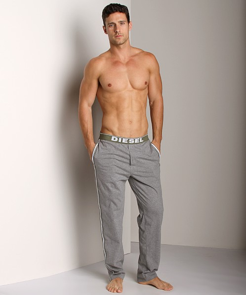 Diesel Adonis Jersey Lounge Pants Grey
