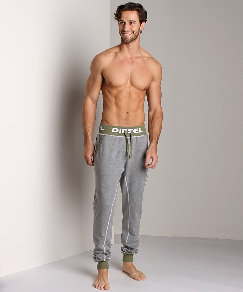 Diesel Massi Drawstring Lounge Pants Grey