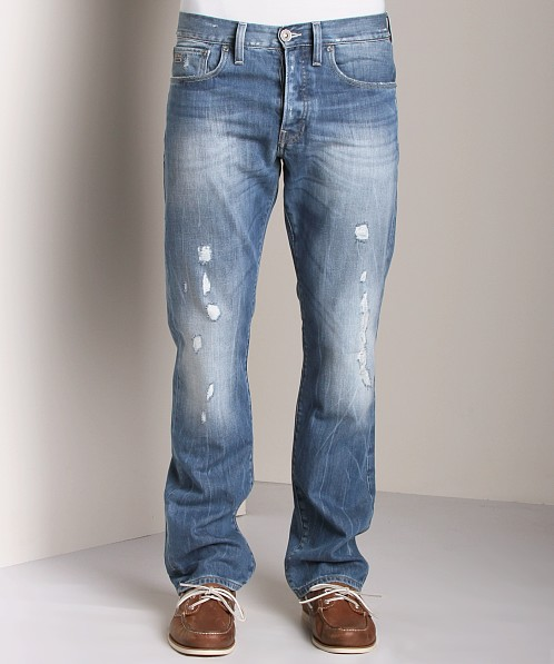 G-Star 3301 Straight Jeans Randall Denim