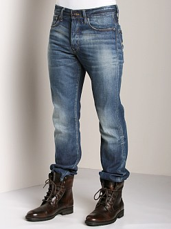 G-Star 3301 Straight Jeans Silver Denim