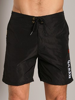 G-Star SO Crew Swim Shorts Black