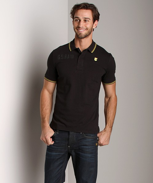 G-Star SO Legion Polo Shirt Black