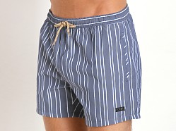 Hugo Boss Salmon Swim Shorts Navy