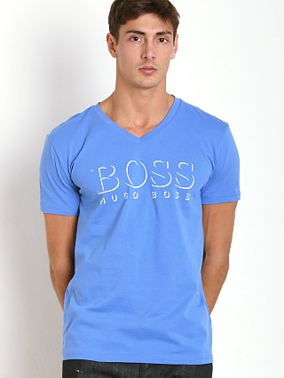 Hugo Boss Beach V-Neck Shirt Royal