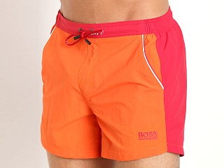 Hugo Boss Snapper Swim Shorts Orange