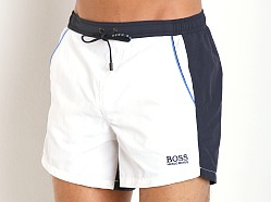 Hugo Boss Snapper Swim Shorts White