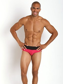 Hugo Boss Rosefish Swim Briefs Magenta