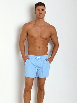Hugo Boss Lobster Swim Shorts Sky Blue